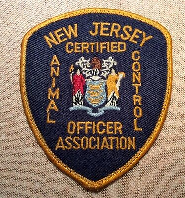NJ New Jersey Certified Animal Control Officer Patch
