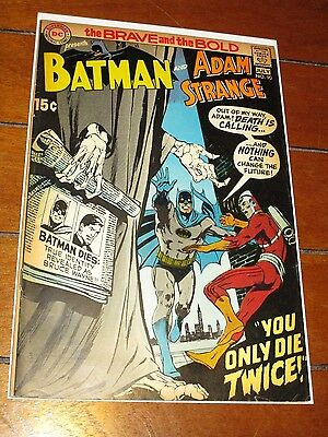The Brave and the Bold #90 Batman and Adam Strange Higher Grade