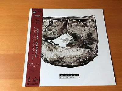 12 Inch Single David Sylvian Let The Happiness In Japan Obi