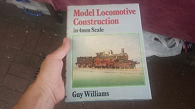 Book Model Locomotive Construction in 4mm Scale Guy Williams