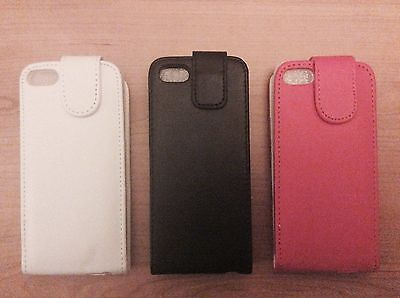 30 X Job Lot New PU Leather Flip Case For Apple iPhone 5