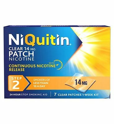 NiQuitin 14mg Clear 24 Hour 7 Patches Step 2