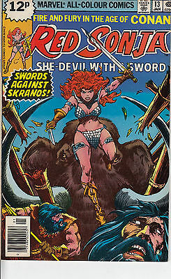 RED SONJA 13...VF/VF+...1979...Roy Thomas,John Buscema...Bargain!
