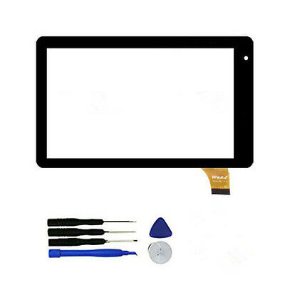 """Touch Screen Digitizer Panel For RCA 7"""" Voyager RCT6873W42 CHAR Tablet pc F88"""
