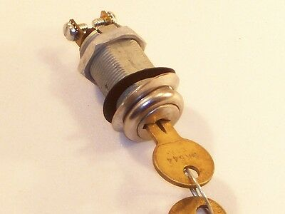 New Key Switch - Spring Loaded Momentarily on and off