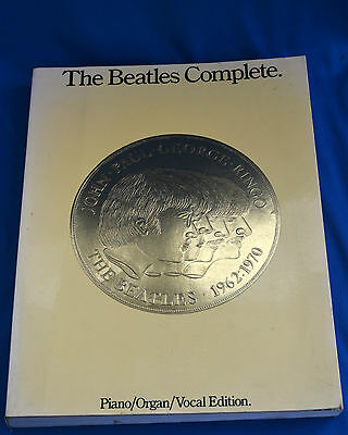 The Beatles Complete   1962-1970 Music & Lyrics to 203 Songs