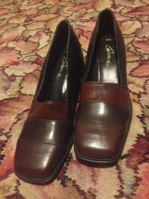 Vintage Women's Shoes: Caressa. Made in Brazil.