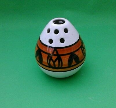 Jersey Pottery Small Vase, Bud Vase Hand Painted 1960s Pot