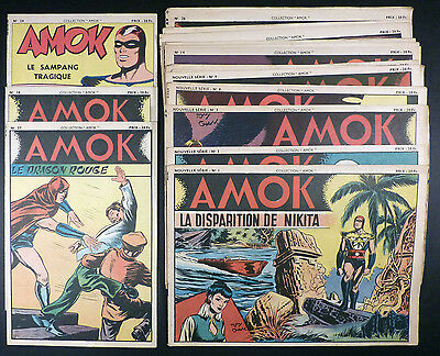 Amok Collection au complet 29 numéros Ed. SAGE 1949 TBE