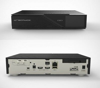 Dreambox 900 UHD 4K Linux E2 Dual Sat Receiver Twin HDTV PVR LCD H.265
