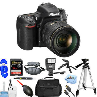 Nikon D750 24.3MP DSLR Camera with 24-120mm Lens (Black)!! PRO KIT BRAND NEW!!