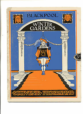 Blackpool Winter Gardens 1928 Programme