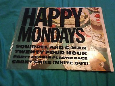 Happy Monday's Squirrel And G-man First Pressing Pvc Cover Very Rare