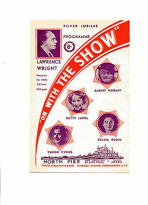 'on With The Show' Blackpool North Pier 1949 Programme