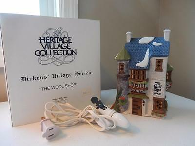 Department 56 Dickens - The Wool Shop  #5924-2