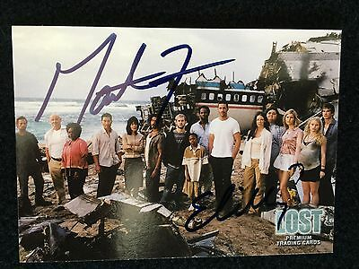 LOST signed trading card Autogramm by Evangeline Lilly & Matthew Fox with COA
