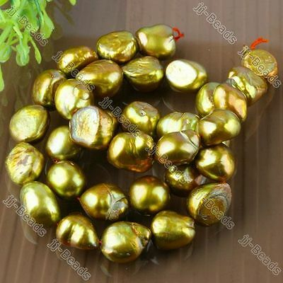 10-11mm Cultured Freshwater Pearl Jewelry Nugget Bead