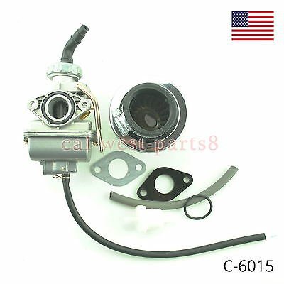 20mm  Carburetor & Air Filter fits Briggs Stratton Animal Go Kart Mini Bike  E3
