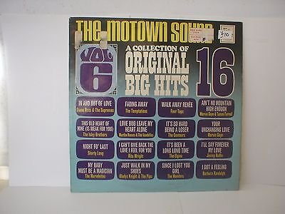 The Motown Sound - A Collection Of 16 Original Big Hits - Lp - 1968