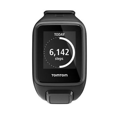 TomTom Spark Cardio GPS Fitness Sports Heart rate Black Small activity Tracker