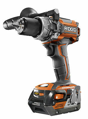 New Ridgid Aeg Compact Brushless 18 V Hammer Drill With 4Ah Battery