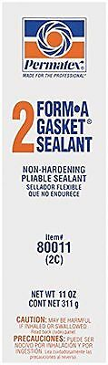 Permatex 80011 -11 oz., #2 Form-A-Gasket Sealant, Slow-drying, Non-Hardening