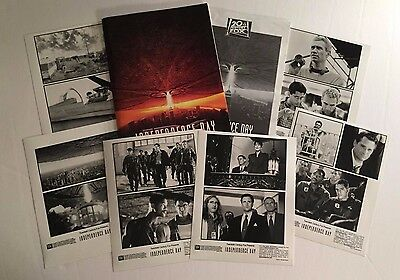 Independence Day (1996) - Press Kit - Will Smith, Bill Pullman & Jeff Goldblum!!