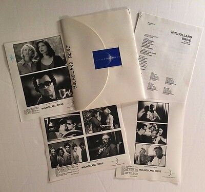 Mulholland Drive (2001) - Press Kit - Naomi Watts!! 3 photos included!
