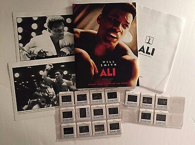 Ali - Press Kit - Will Smith!! - 2 photos & 17 slides!!