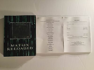 Matrix Reloaded - Press Kit - Keanu Reeves!!