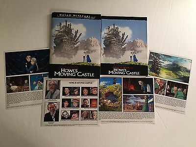 Howl's Moving Castle - Press Kit - 4 photos!! Hayao Miyazaki!!