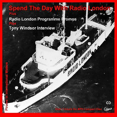 Pirate Radio - Spend A Day With Radio London (MP3 CD Disc) CAR FRIENDLY MP3