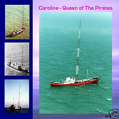 Pirate Radio Caroline Queen of The Pirates MP3 Files on DVD Disc