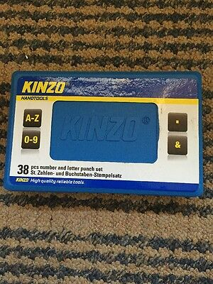 Kinzo Number and Letter Stamping Set (38 Pieces)