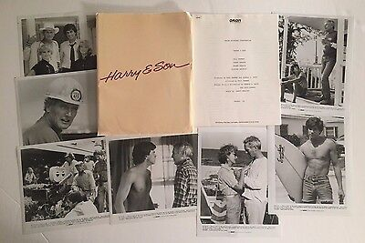 Harry & Son - Press Kit - 7 photos!! Paul Newman!!
