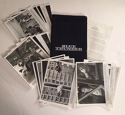 Blue Thunder - Press Kit - 18 photos! Roy Scheider!!