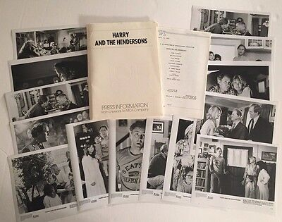 Harry and the Hendersons - Press Kit -  John Lithgow!