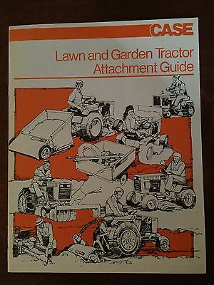 Case Lawn and Garden Tractor Attachment Guide