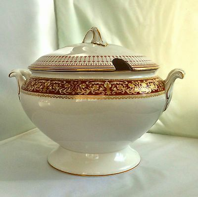 Spode Fine China Renaissance Soup Tureen with Lid