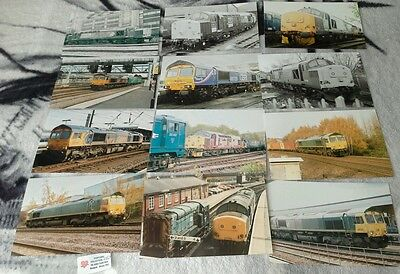 Diesel train collection of photographs lot 110