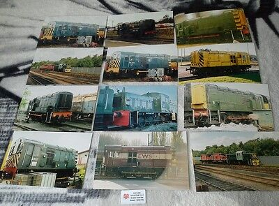 Diesel shunting engines collectoon of photos lot 111