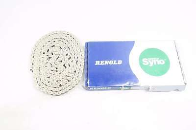 New Renold 40A1Sn Syno 1/2 In 10Ft Single Strand Riveted Roller Chain D548423