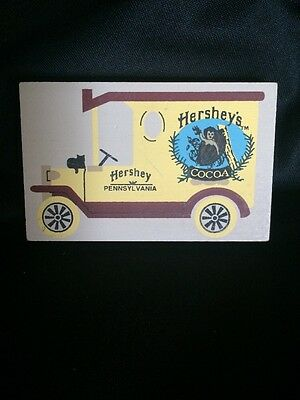 Cat's Meow Hershey's Cocoa Hershey, Pennsylvania 1992 Delivery Car Truck VTG