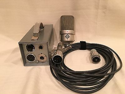 Neumann M49c Vintage Microphone - Fully Serviced & Free Shipping to the World!!!