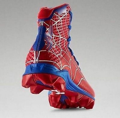 Under Armour Highlight Alter Ego Spiderman Marvel Football Cleats Youth 5.5Y