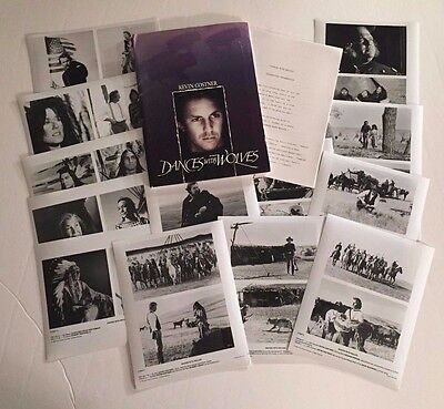 Dances with Wolves - Press Kit - 13 photos!! Kevin Costner!!