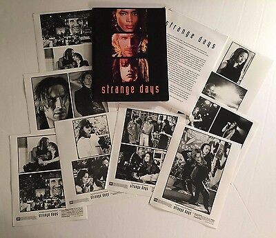 Strange Days - Press Kit - 8 photos!! Ralph Fiennes & Angela Bassett!