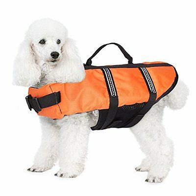 JZHY Dog Life Jacket Safety Clothes Swimming life jackets Swimwear with Belt for