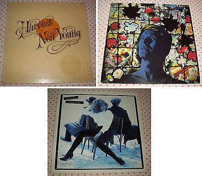 Lotto 4 Dischi Vinile LP 33 Giri - D. BOWIE - T. TURNER - N. YOUNG - Anni 70-80
