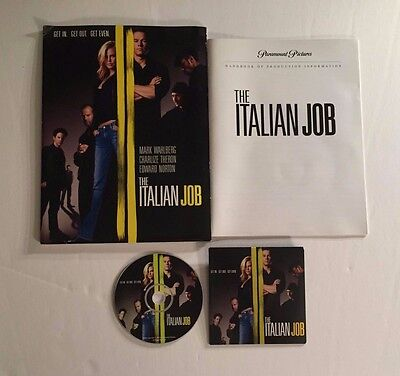 The Italian Job - Press Kit - Mark Wahlberg & Charlize Theron!!